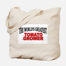 """""""The World's Greatest Tomato Grower"""" Tote Bag"""