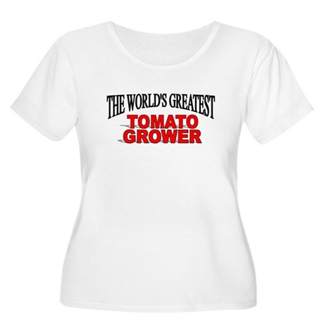 """The World's Greatest Tomato Grower"" Women's Plus"