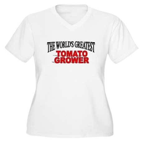 """The World's Greatest Tomato Grower"" Women's Plus"