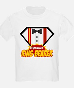 Ring Bearer Superhero T-Shirt