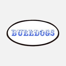 Bulldogs-Max blue 400 Patch
