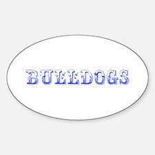 Bulldogs-Max blue 400 Decal
