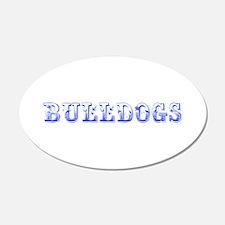 Bulldogs-Max blue 400 Wall Decal