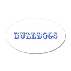 Bulldogs-Max blue 400 Wall Decal