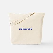 Bulldogs-Max blue 400 Tote Bag
