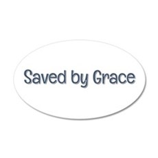 Saved by Grace Wall Decal