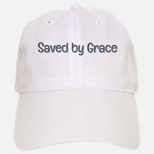 Saved by Grace Baseball Baseball Baseball Cap
