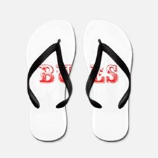 Bulls-Max red 400 Flip Flops