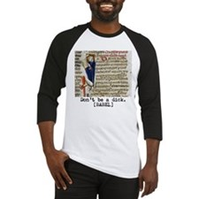 Dont Be A Dick While Reading Baseball Jersey