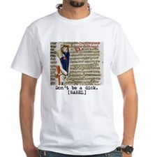 Dont Be A Dick While Reading T-Shirt