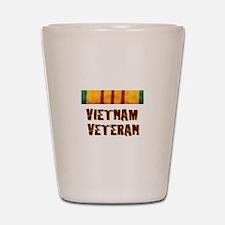 VIETNAM VET Shot Glass
