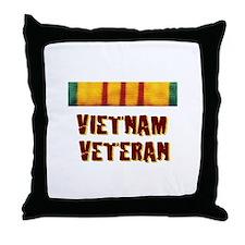 VIETNAM VET Throw Pillow