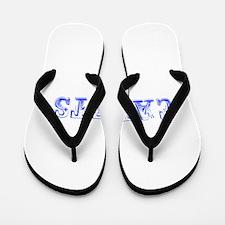 Cadets-Max blue 400 Flip Flops