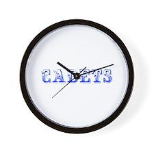 Cadets-Max blue 400 Wall Clock