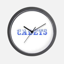 Cadets-Max blue 400 Wall Clock