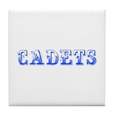 Cadets-Max blue 400 Tile Coaster