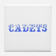 Cadets-Max blue 400 Tile Coaster