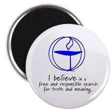 "Truth and meaning 2.25"" Magnet (10 pack)"