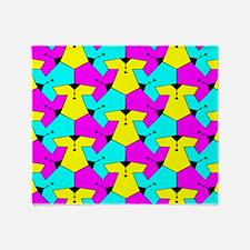 Pattern of Cute Blouses Throw Blanket