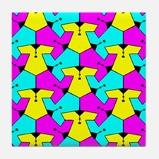 Pattern of Cute Blouses Tile Coaster