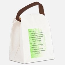 I Choose Canvas Lunch Bag