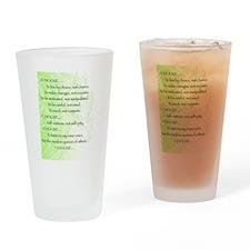 I Choose Drinking Glass