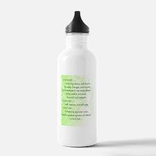 I Choose Water Bottle