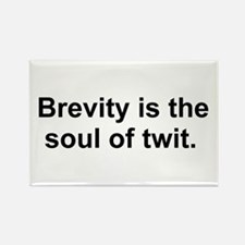Brevity is the soul of twit. Magnets