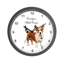 Cute Cardigan welsh corgi Wall Clock