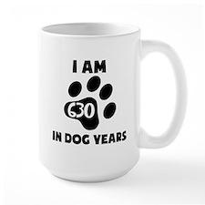 90th Birthday Dog Years Mugs
