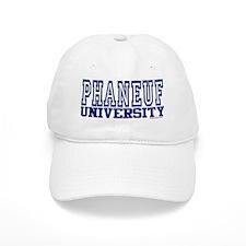 PHANEUF University Baseball Cap