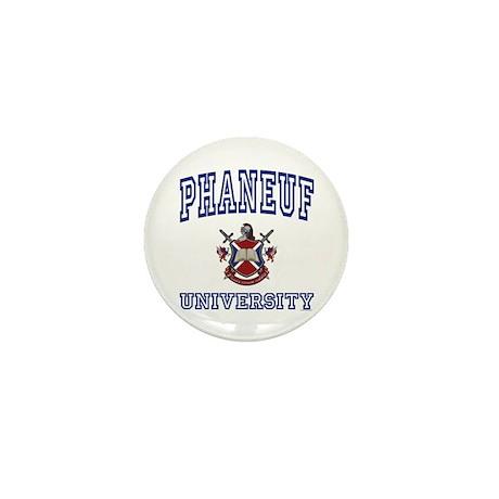 PHANEUF University Mini Button (100 pack)