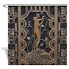 Art Deco Gilded Harmony Shower Curtain