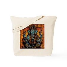 Blue Ganesha Tote Bag