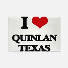 I love Quinlan Texas Magnets