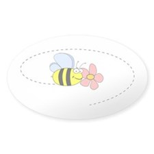 Bee and Flower Decal