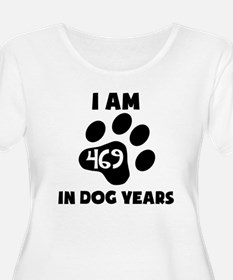 67th Birthday Dog Years Plus Size T-Shirt