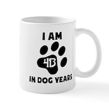 59th Birthday Dog Years Mugs