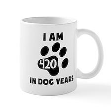 60th Birthday Dog Years Mugs