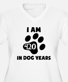60th Birthday Dog Years Plus Size T-Shirt