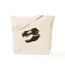 T-Rex Skull Tote Bag