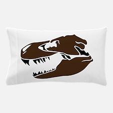 T-Rex Skull Pillow Case