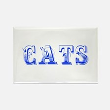 cats-Max blue 400 Magnets