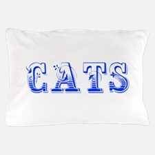 cats-Max blue 400 Pillow Case