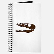 Velociraptor Skull Journal