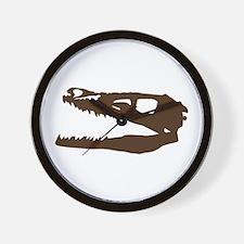 Velociraptor Skull Wall Clock