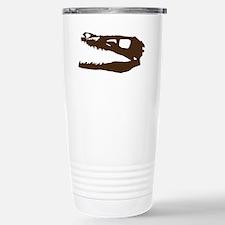 Velociraptor Skull Travel Mug