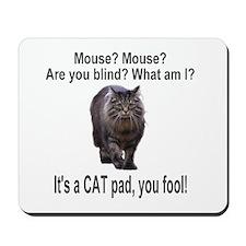 Cat joke Mousepad