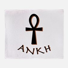 Ankh Throw Blanket