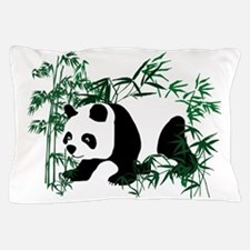 Panda Bear on the Prowl Walking in the Pillow Case